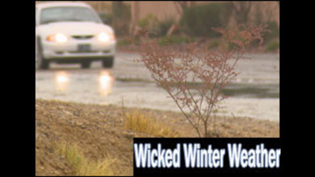 Wicked Winter Weather Hits Clark County