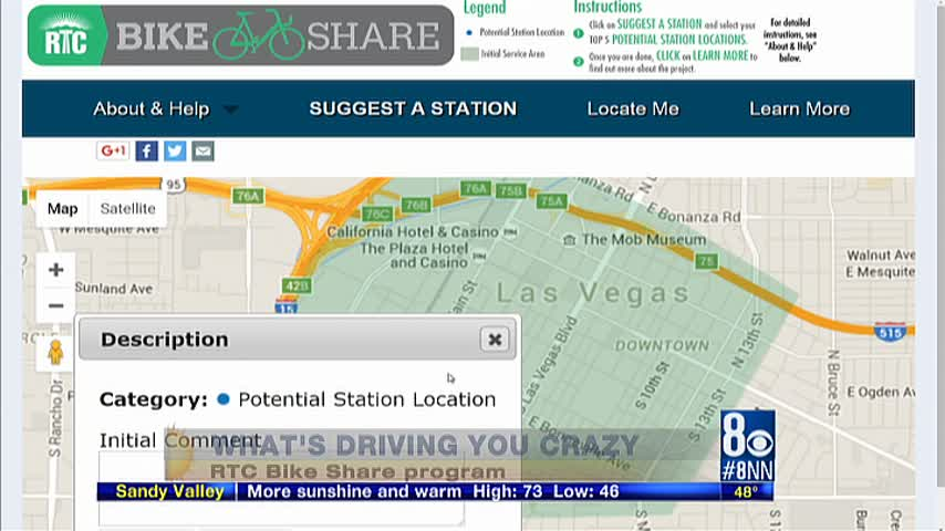 bike share news stories las vegas