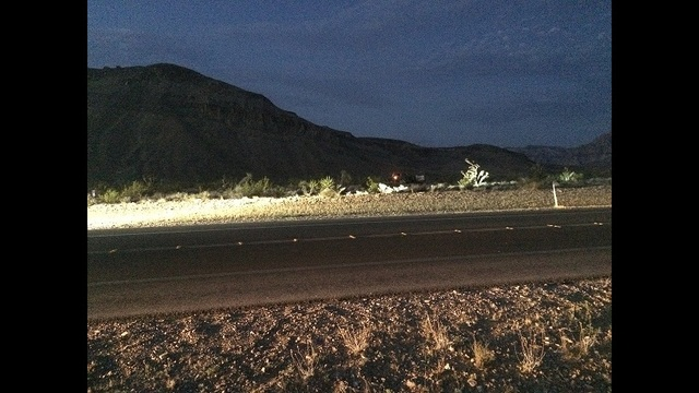 NHP investigating fatal car wreck near Red Rock Canyon