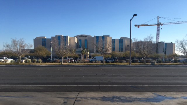 Barricade situation ends at Mountain View Hospital
