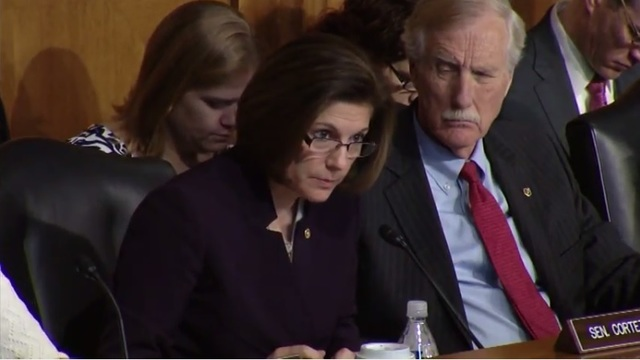 Sen. Cortez Masto questions Trump's Energy Secretary Nominee Rick Perry about Yucca Mountain issue
