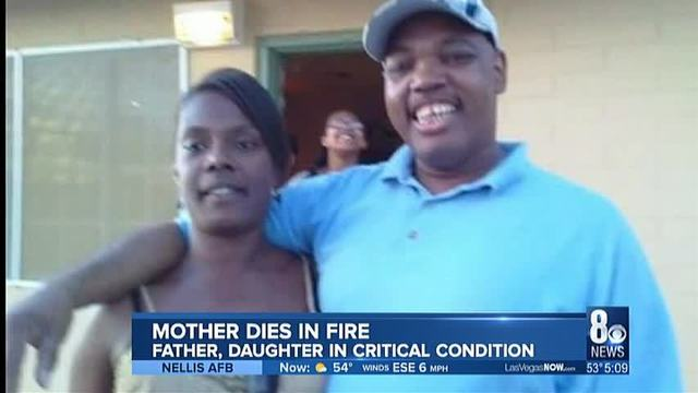 Father dies from fire that also killed wife and child