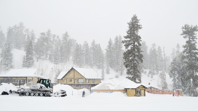 Roads closed for Red Rock and Mt. Charleston due to winter weather conditions