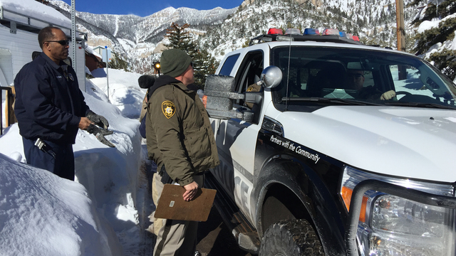 Clark County issues Declaration of Emergency for Mt. Charleston