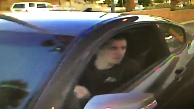 Police searching for an armed robbery suspect who threatened 2 children