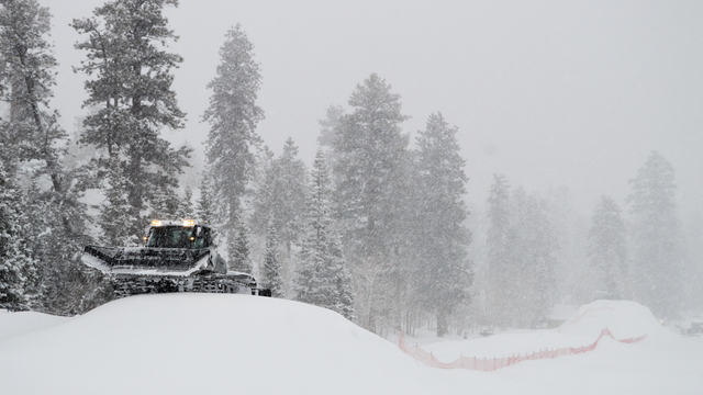 PHOTOS: Lee Canyon taking precautions due to big snow totals