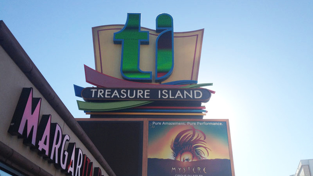 Two employees treated for smoke inhalation at Treasure Island