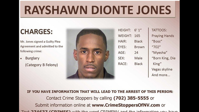 Wednesday Warrant - Rayshawn Dionte Jones