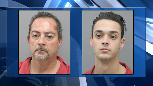 Father, son arrested for credit union robberies