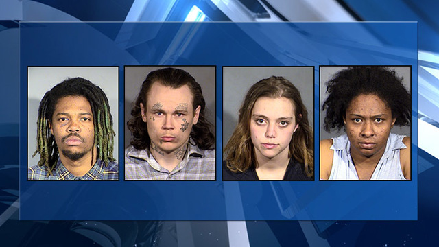 4 arrested for allegedly robbing taxicab drivers