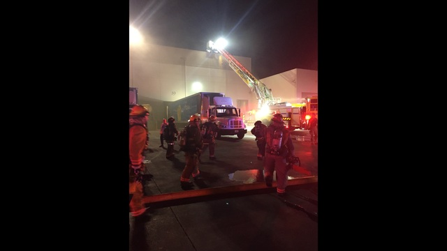 No injuries in 2nd alarm warehouse fire, 100 employees evacuated