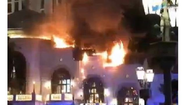 Las Vegas Bellagio fire caused by faulty light