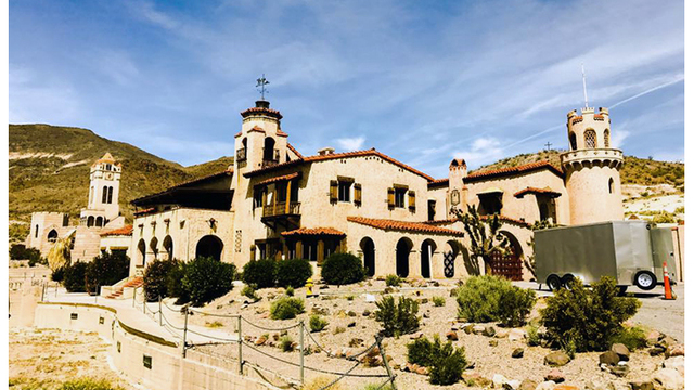 Scotty's Castle flood recovery tours being offered