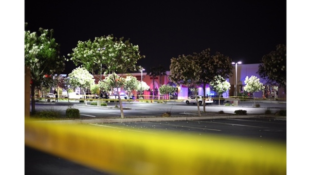 NLV Police: Man found dead in parking lot, homicide suspected