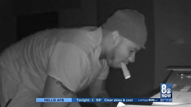 Suspect wanted for more than 20 burglaries in SW Las Vegas