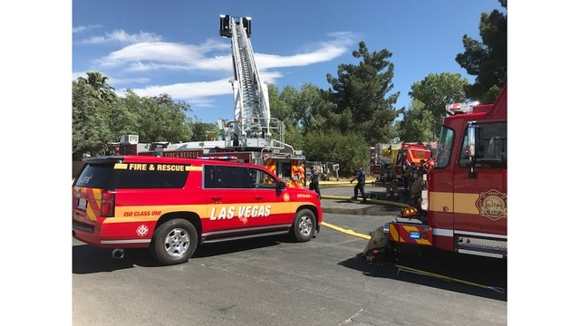 LVFD: Fire sparks from barbecue grill