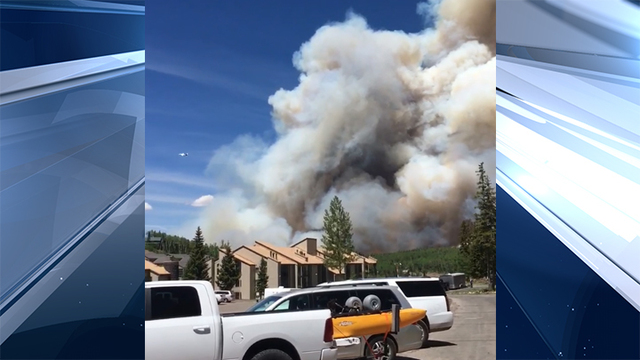 UPDATE: Wildfire near Brian Head continues to spread