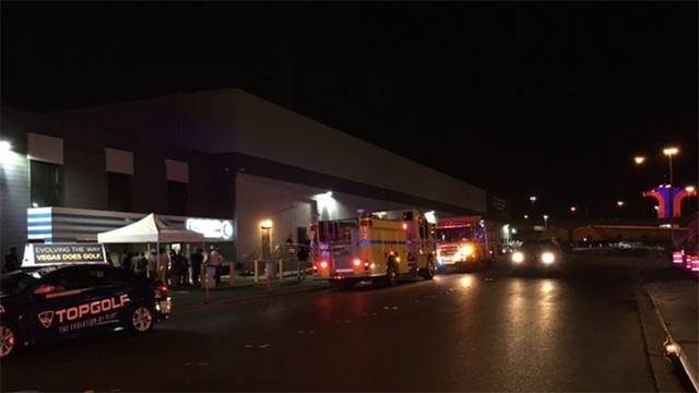 Small fire damages Vegas marijuana dispensary