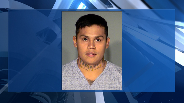 Man arrested after shooting at Las Vegas Strip parking garage
