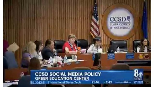CCSD Board of Trustees review guidelines for teachers