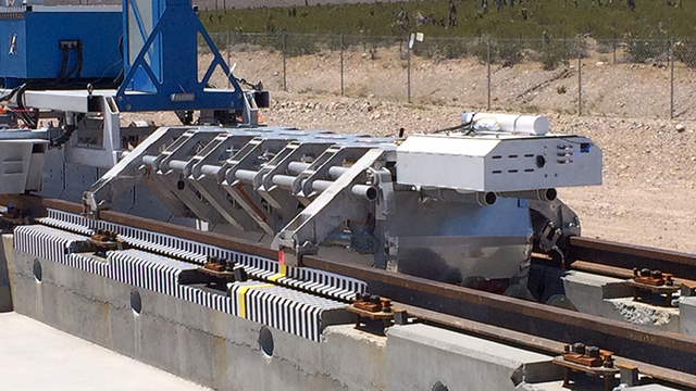 Hyperloop One reaches 192 mph in Nevada track test