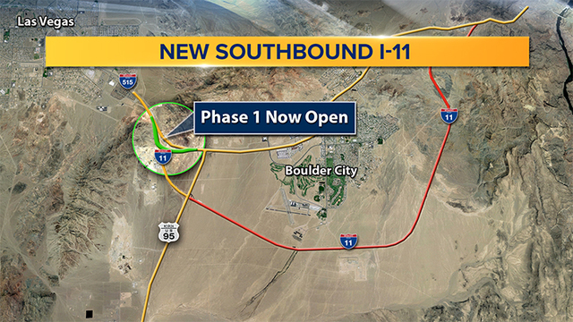 New section of I-11 opens for traffic