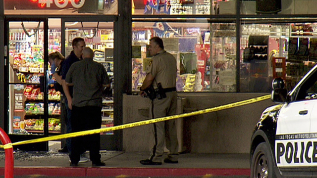Overnight robbery ends in shootout