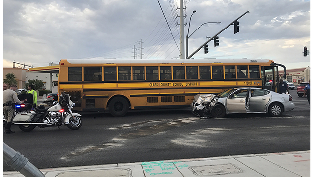 2 CCSD bus crashes Tuesday morning
