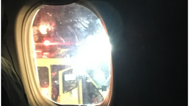 Engine fire forces emergency landing at McCarran