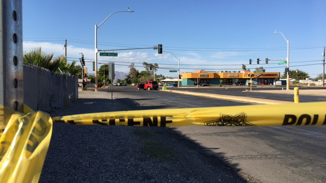 UPDATE: Motorcyclist killed in crash at Lake Mead and Christy