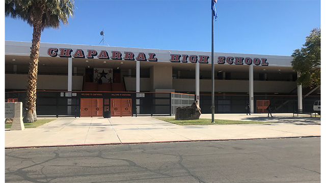 Girl, 14 stabbed at Chaparral High School