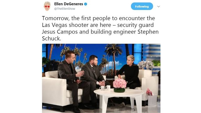 Security guard Jesus Campos to grant first interview to Ellen DeGeneres