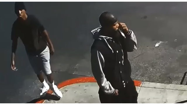 Police seek 2 suspects in violent robbery