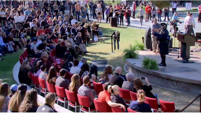 UNLV Remembrance Ceremony for Oct. 1 victims
