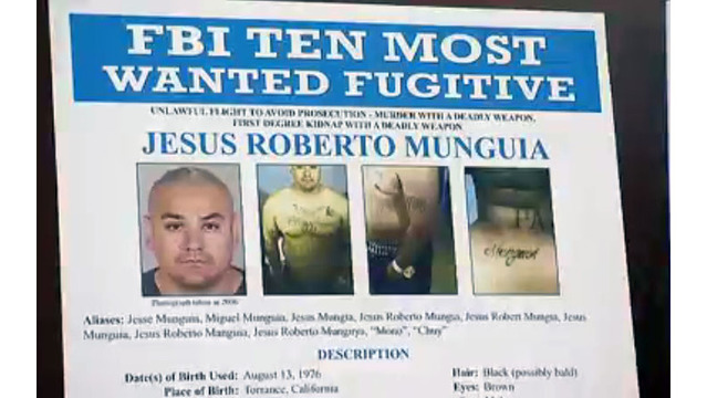 Suspect in Las Vegas killing added to 'Top Ten Most Wanted' list