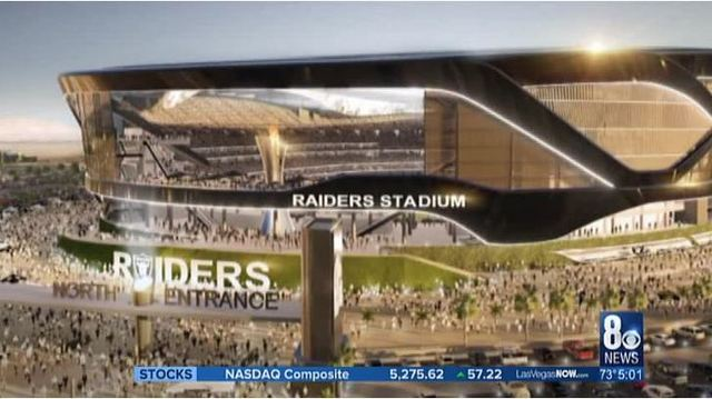Raiders to break ground on Las Vegas stadium