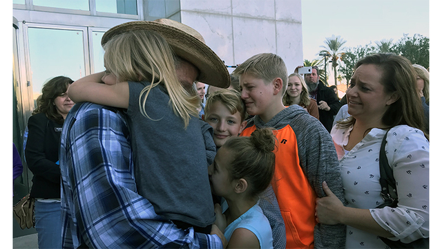 Ammon Bundy released from prison