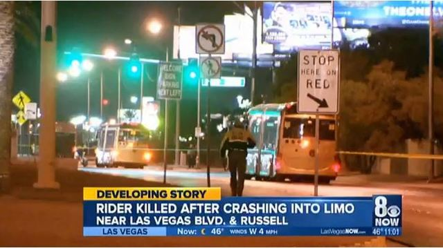 Motorcyclist killed in crash near 'Welcome to Fabulous Las Vegas' sign ID'd by coroner