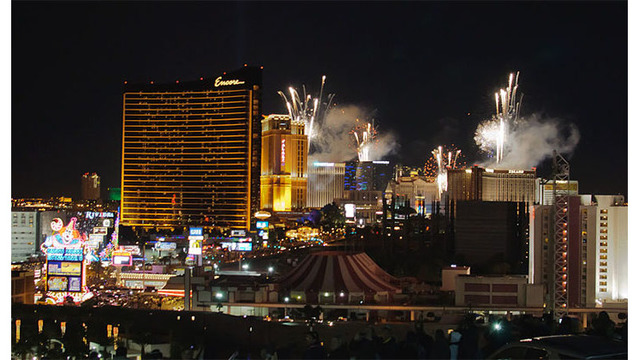 Las Vegas ranks high for best places to spend NYE