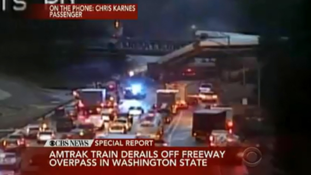 'Injuries and fatalities' reported in Amtrak train derailment