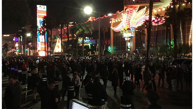 Police report handful of arrests in Vegas New Year's Eve