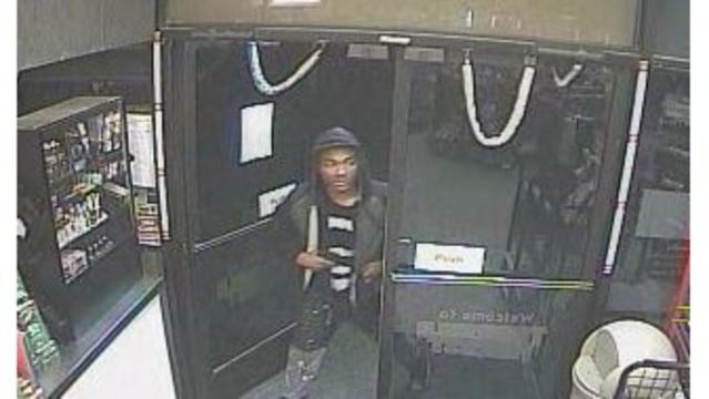 Police on the hunt for an armed robbery suspect