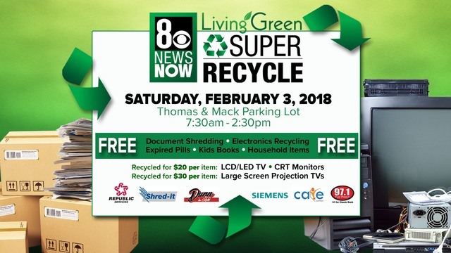 The 7th Annual 8 News NOW Super Recycle Event