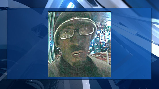 Police release photo, surveillance video of New York-New York robbery suspect