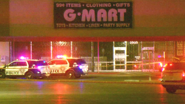 Las Vegas police say 1 man is dead after drive-by shooting