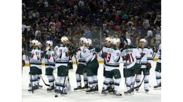 Staal scores twice as Wild top Golden Knights 5-2