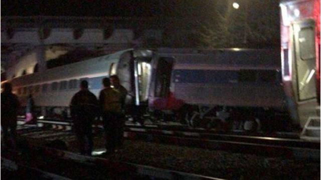 Amtrak train collides with CSX freight train in SC
