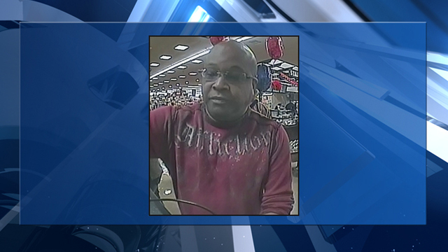 Henderson Police looking for bank robbery suspect