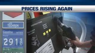 Las Vegas Gas Prices >> Las Vegas Gas Prices On The Rise