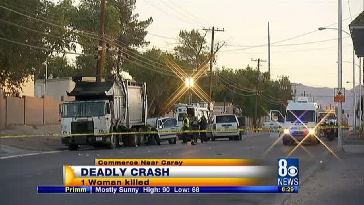 1 killed in crash near Commerce and Carey